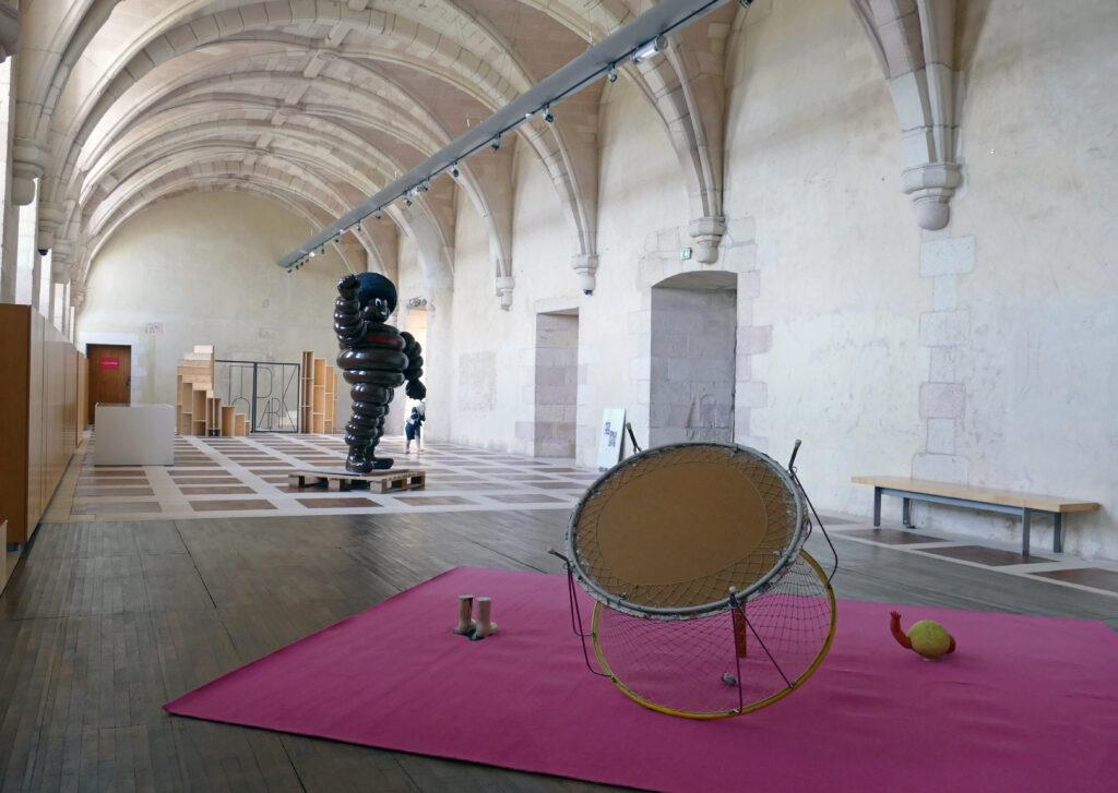 exposition à Saint Savin